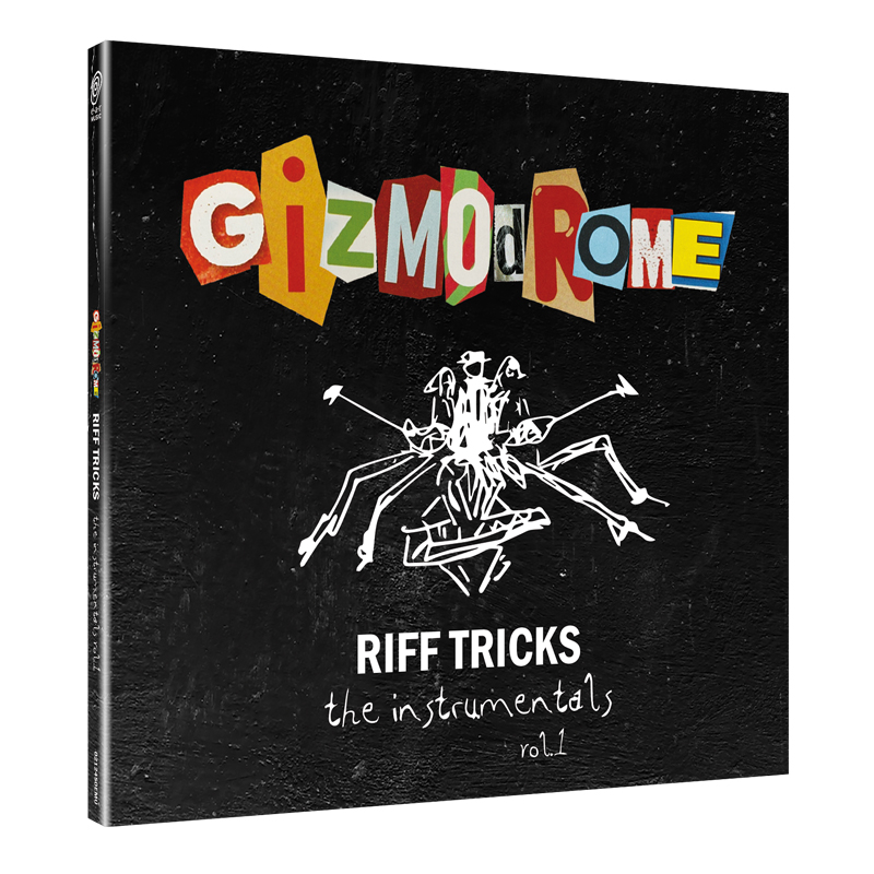Buy Online Gizmodrome - Riff Tricks - The Instrumentals Vol. 1 Digipak (Ltd Edition)