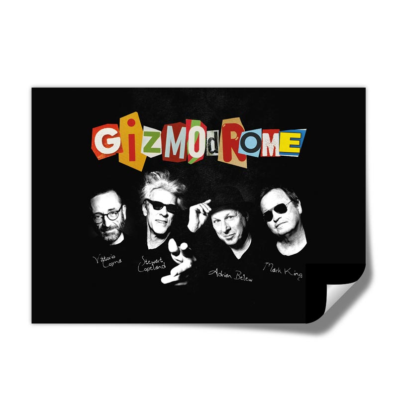 Buy Online Gizmodrome - A2 Album Art Poster (Exclusive)