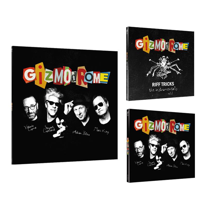Buy Online Gizmodrome - Gizmodrome Vinyl + CD Digipak + Instrumental EP