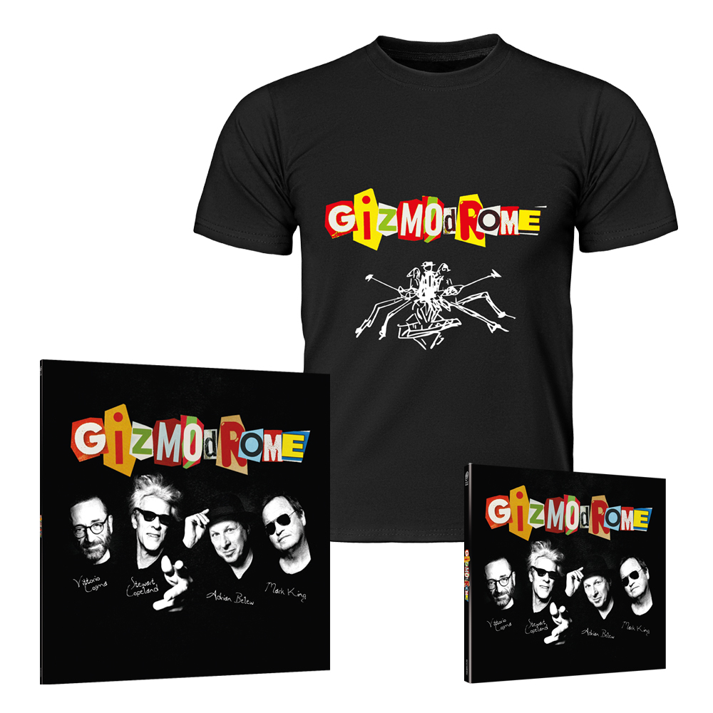 Buy Online Gizmodrome - Gizmodrome Vinyl LP + CD Digipak + T-Shirt