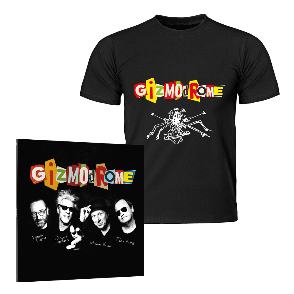 Buy Online Gizmodrome - Gizmodrome Vinyl LP + T-Shirt