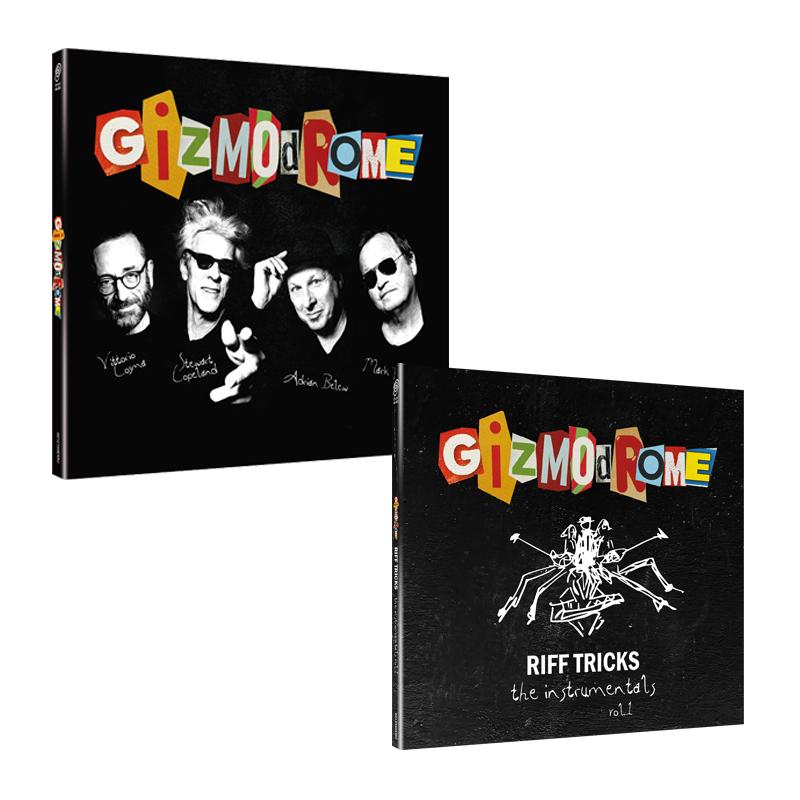 Buy Online Gizmodrome - Gizmodrome CD Digipak + Instrumental EP