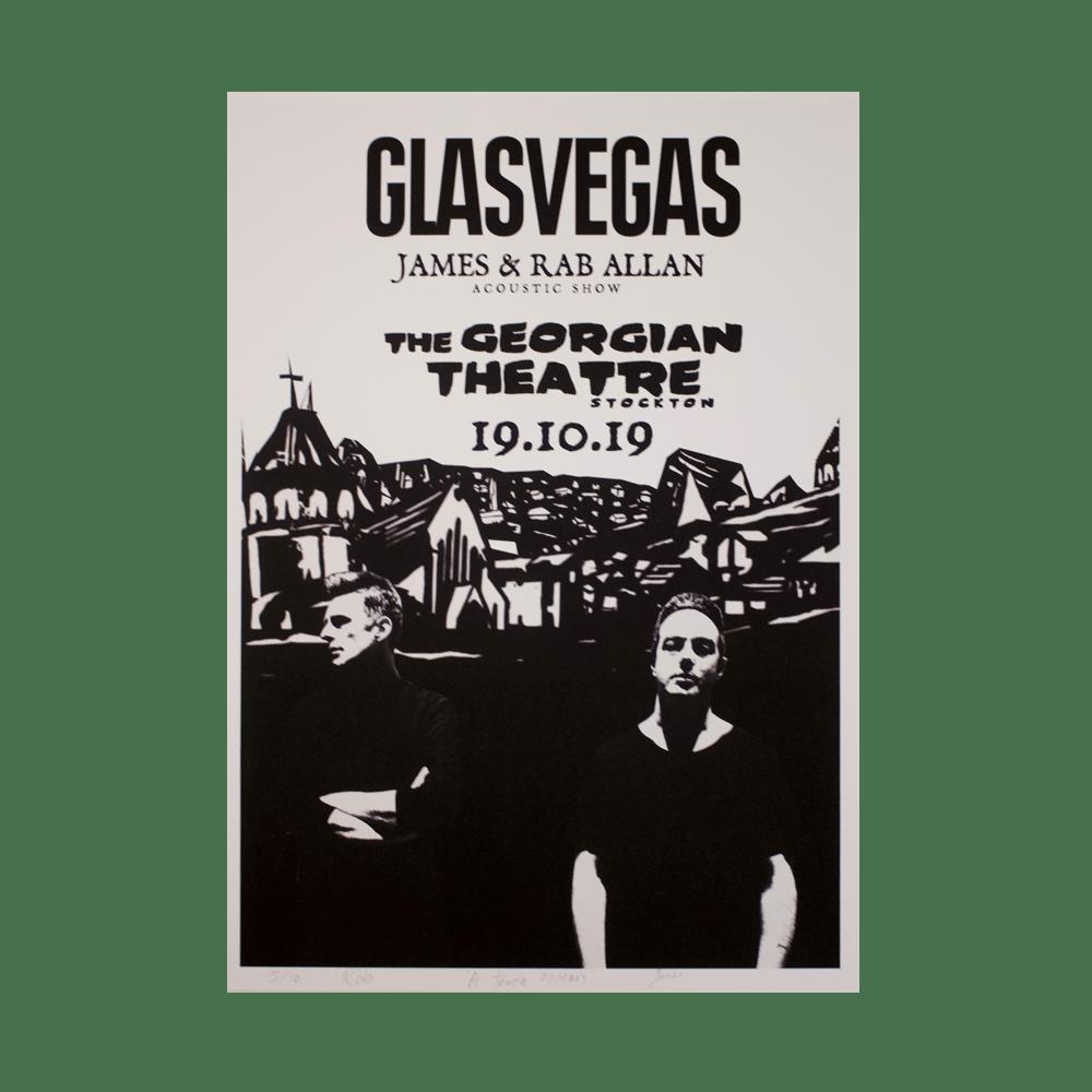 Buy Online Glasvegas - Acoustic Tour Print - Stockton
