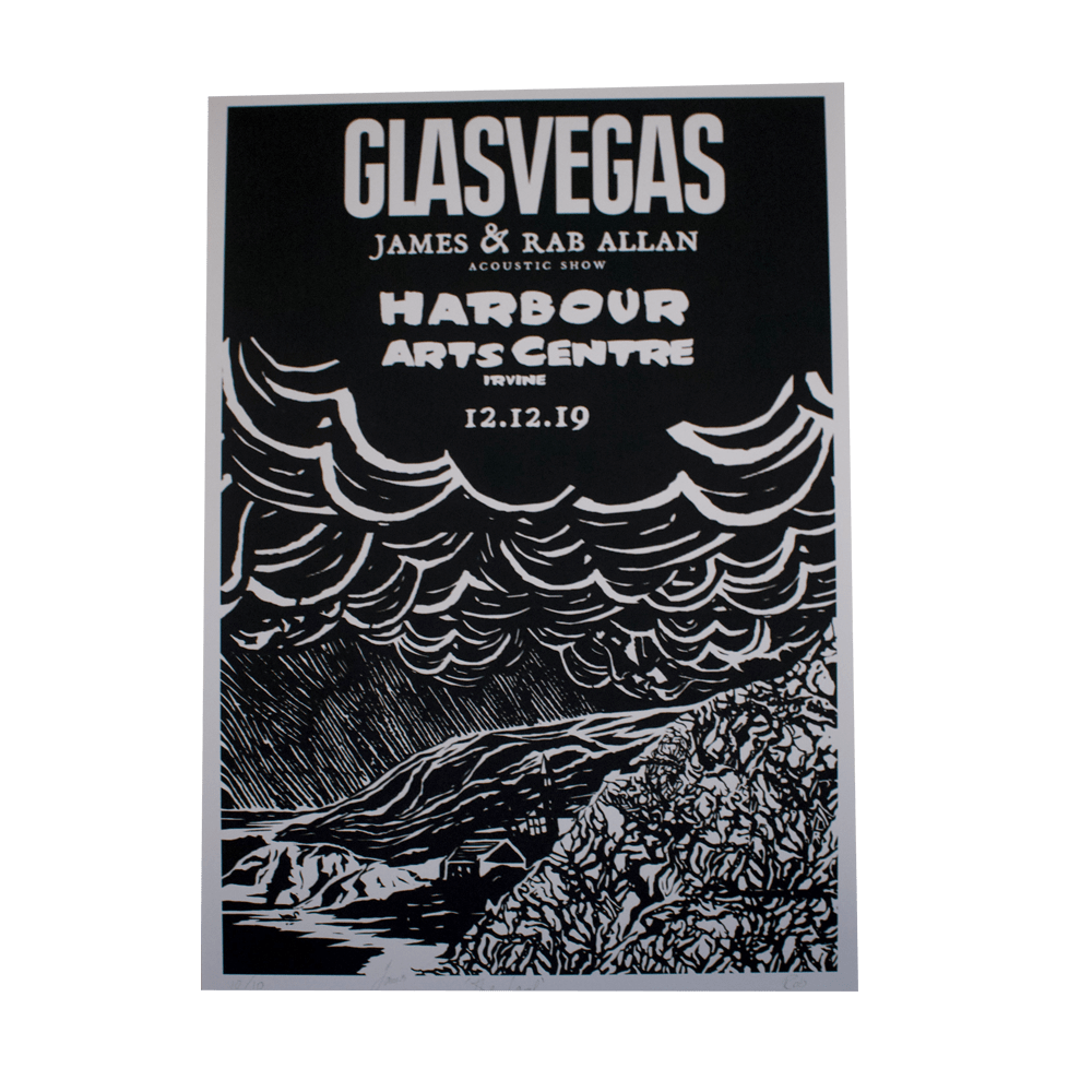 Buy Online Glasvegas - Acoustic Tour Print - Irvine