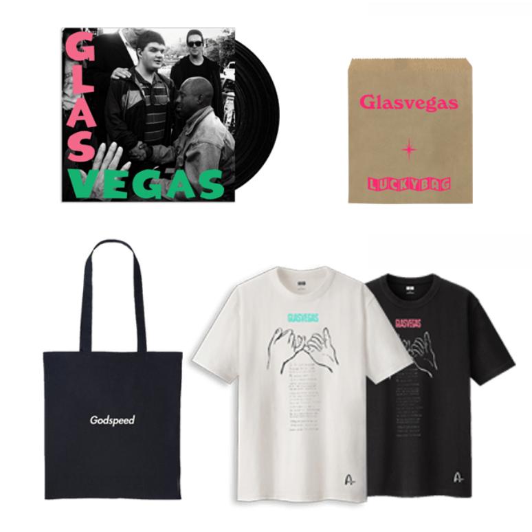 Buy Online Glasvegas - Godspeed Vinyl (Signed) + T-Shirt + Tote Bag + Lucky Bag