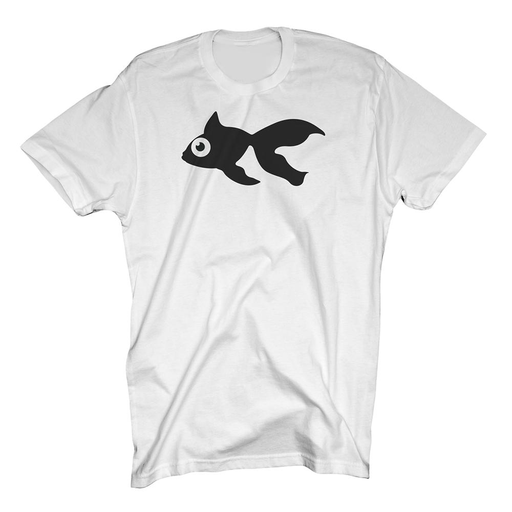 Buy Online GoldFish - Blinky Tee - Black / White