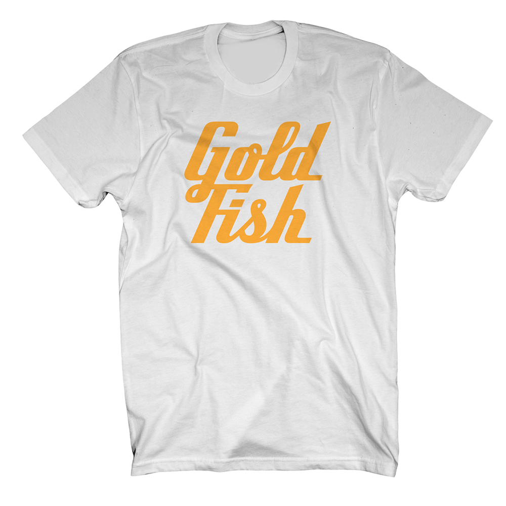 Buy Online GoldFish - Goldfish Tee - Orange / White