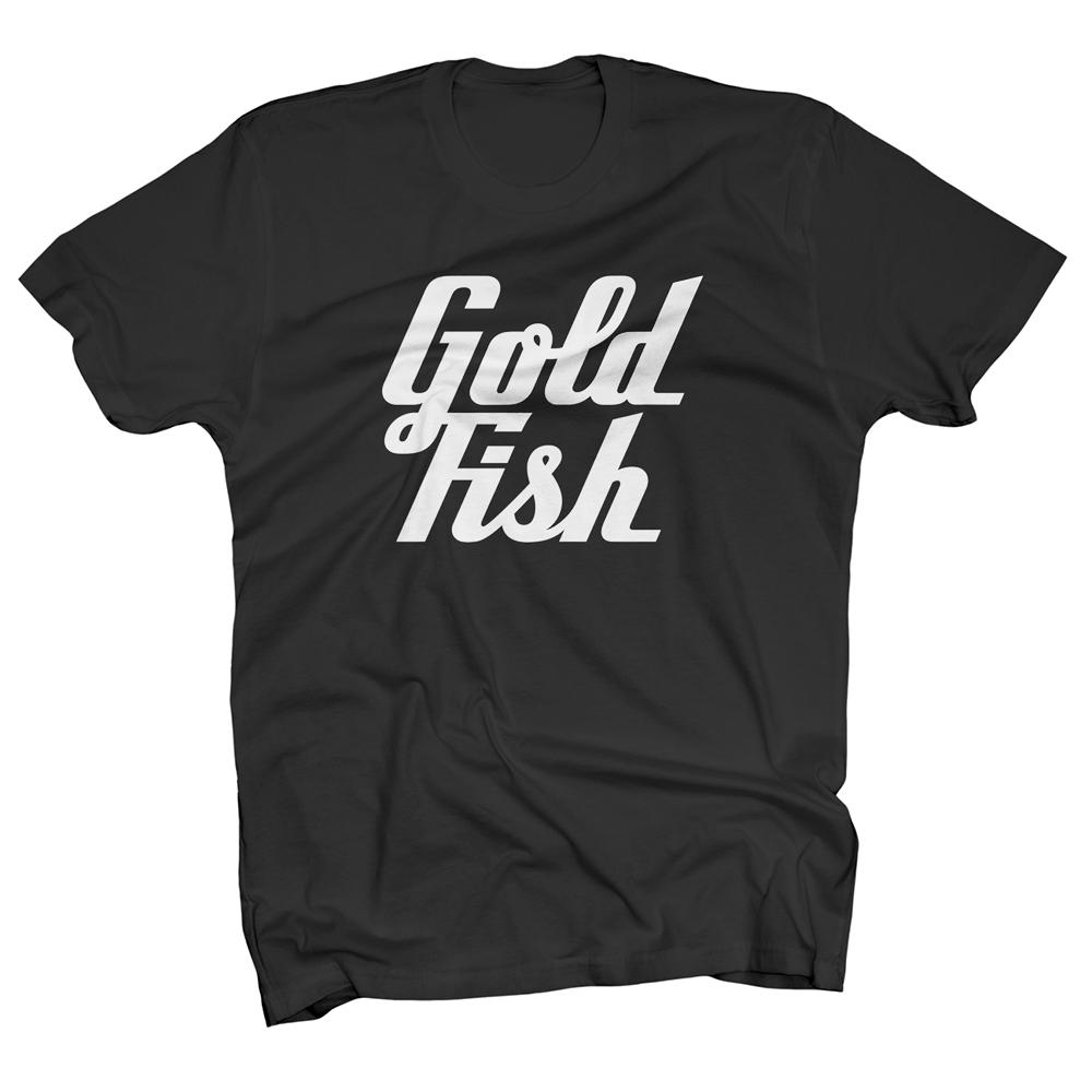 Buy Online GoldFish - Goldfish Tee - White / Black