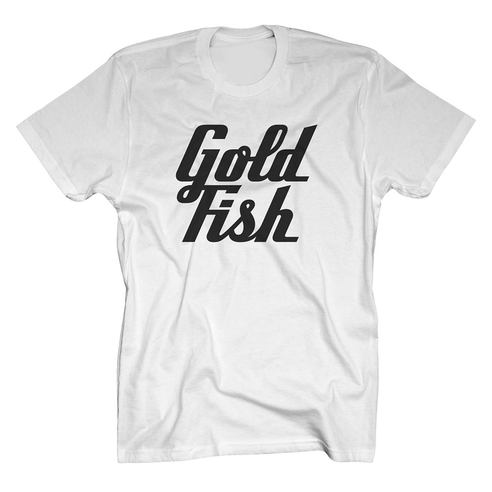 Buy Online GoldFish - Goldfish Tee - Black / White
