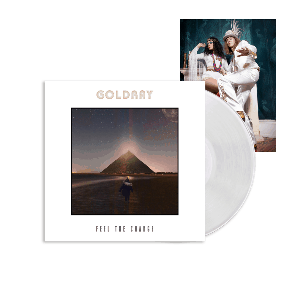 Buy Online Goldray - Feel The Change White + Photo Print (Signed)