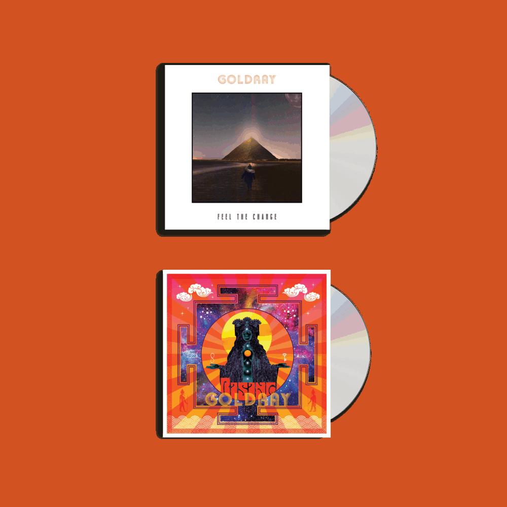 Buy Online Goldray - Feel The Change - CD + Rising CD