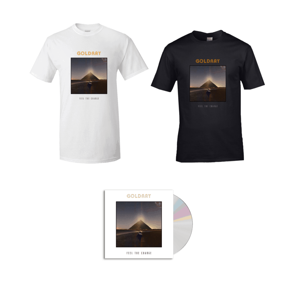 Buy Online Goldray - Feel The Change - CD (Signed) + T-Shirt