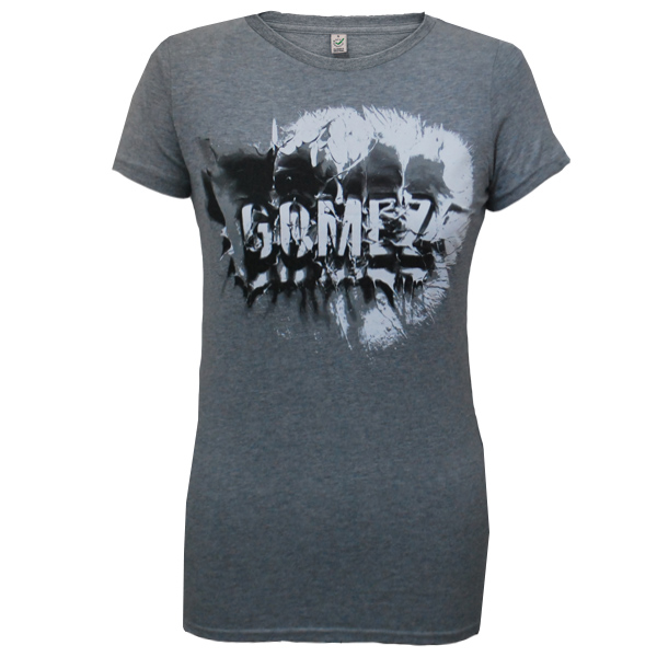 Buy Online Gomez - Ladies Splash Grey T-Shirt