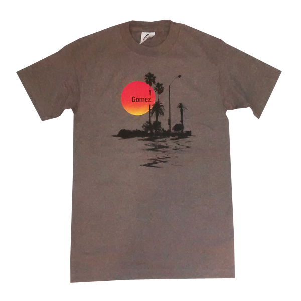 Buy Online Gomez - Sunrise Brown T-Shirt