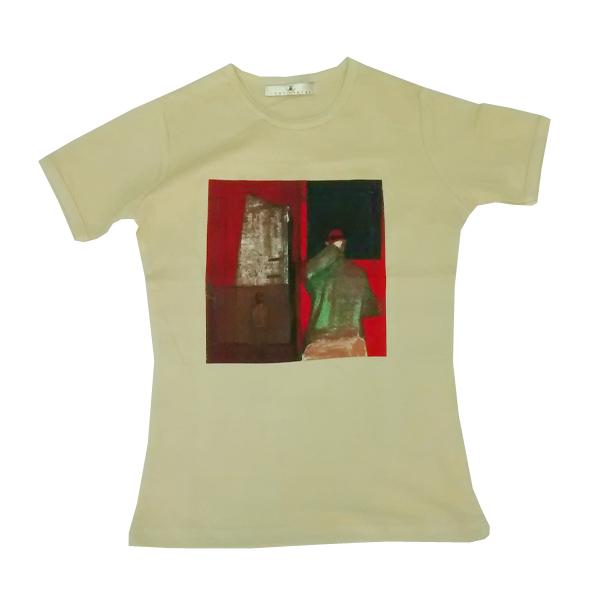 Buy Online Gomez - Ladies Bring It On Beige T-Shirt
