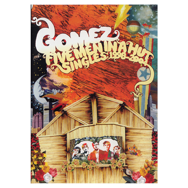 Buy Online Gomez - Five Men In A Hut (Singles 1998-2004) DVD PAL