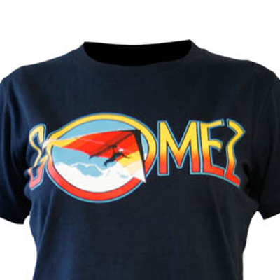 Buy Online Gomez - Ladies Glider Blue T-Shirt