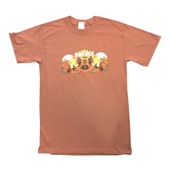 Buy Online Gomez - Tour '06 Chestnut T-Shirt (No Dates On Reverse)