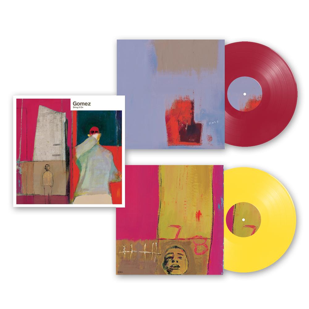 Buy Online Gomez - Bring It On: 20th Anniversary 2LP Coloured Vinyl Set
