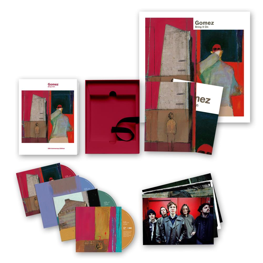 Buy Online Gomez - Bring It On: 20th Anniversary 4CD Set + Ltd Edition Print (Signed)