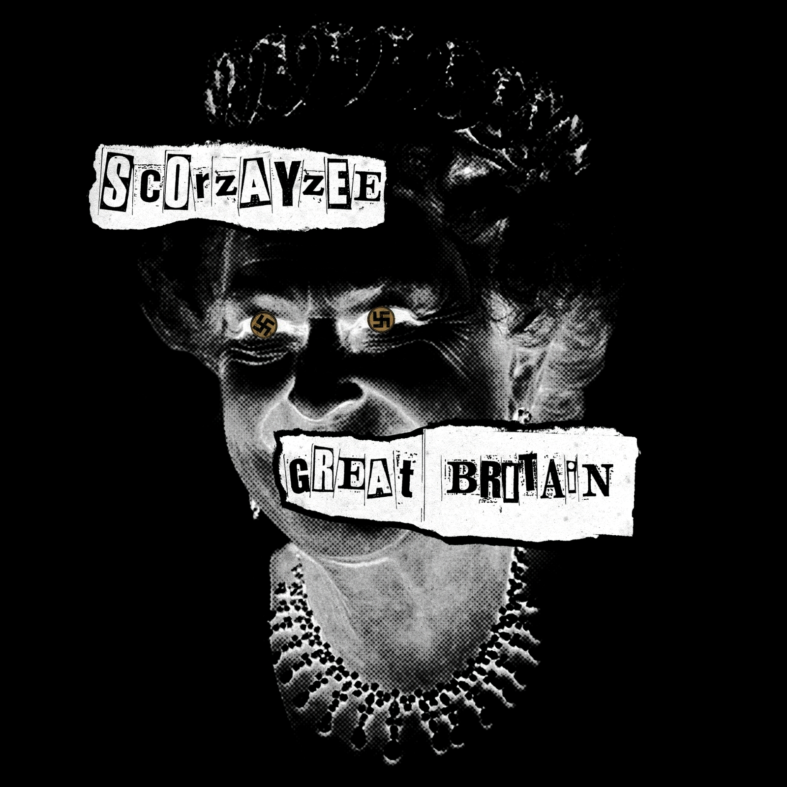 Buy Online Scorzayzee - Great Britain Deluxe 'Windsor's Fallen' Ltd Edition Gold Vinyl and Sticker)