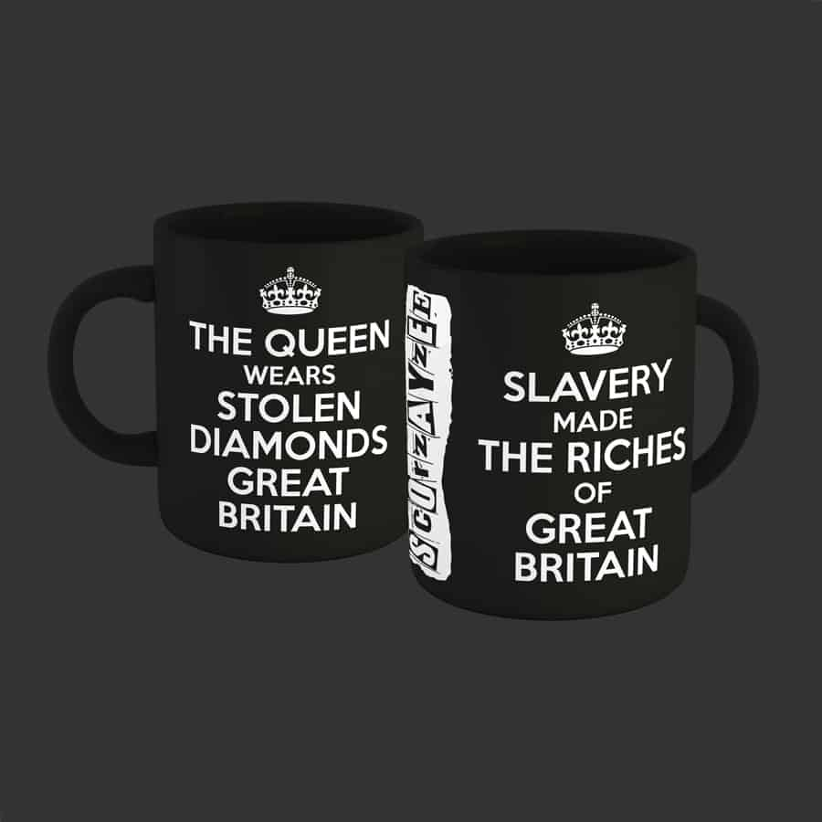 Buy Online Scorzayzee - Great Britain Mug (Black)