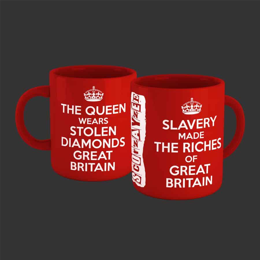 Buy Online Scorzayzee - Great Britain Mug (Red)