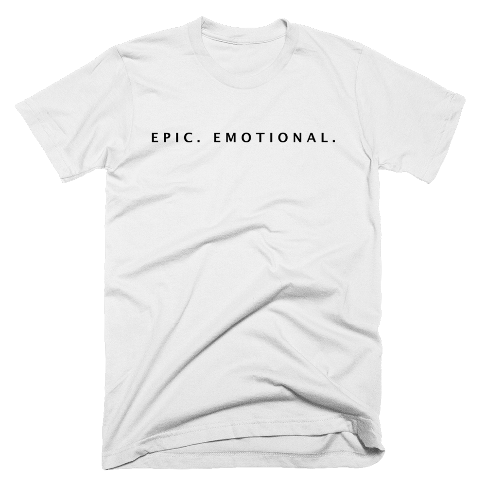 Buy Online Gothic Storm - Epic . Emotional. White T-Shirt