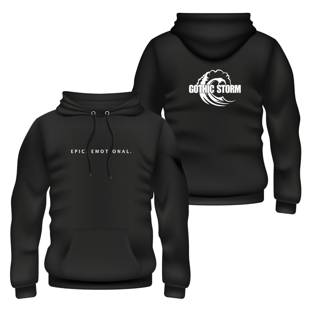Buy Online Gothic Storm - Epic . Emotional. Black Hoodie