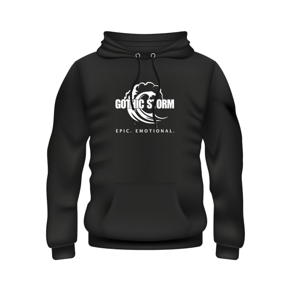 Buy Online Gothic Storm - Gothic Storm Logo Hoodie Black