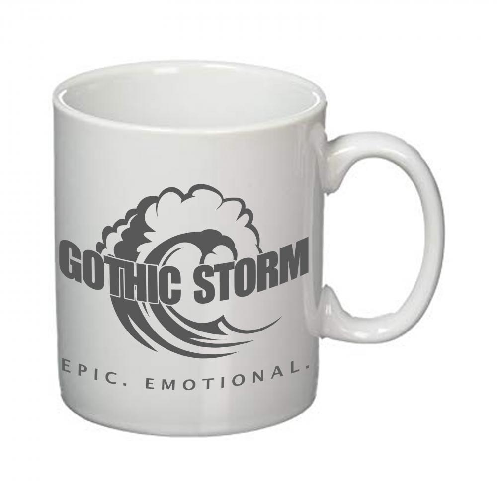 Buy Online Gothic Storm - Gothic Storm Grey Logo Mug