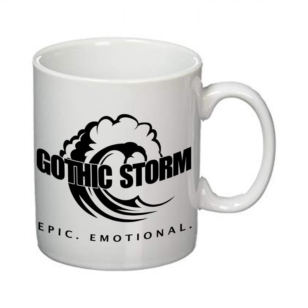 Buy Online Gothic Storm - Gothic Storm Black Logo Mug
