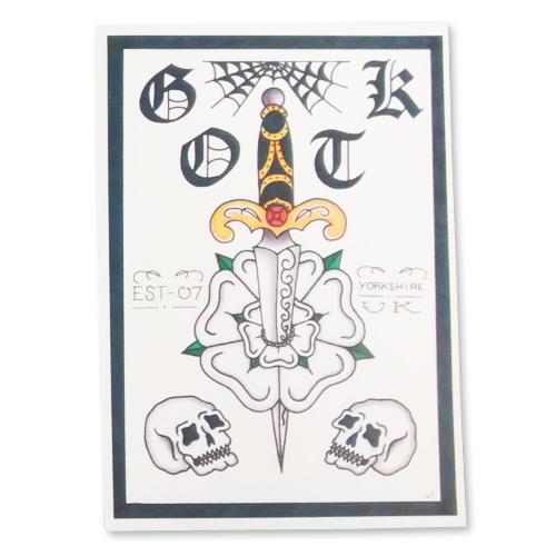 Buy Online Glamour Of The Kill - Limited Edition Print (Dagger)