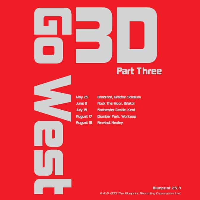Buy Online Go West - '3D' Part 3