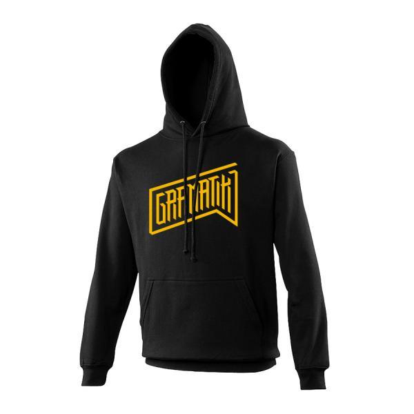 Buy Online Gramatik - Yellow Logo Black Hoody