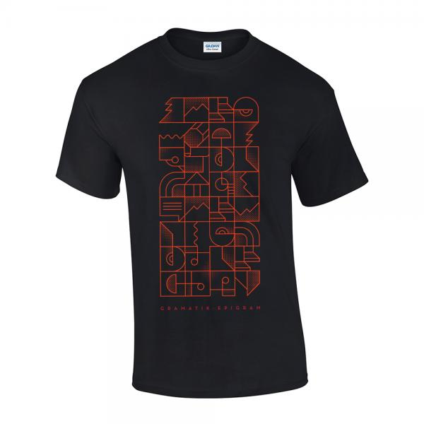 Buy Online Gramatik - Epigram Black T-Shirt