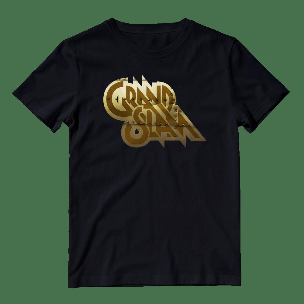 Buy Online Grand Slam - Hit The Ground Gold Logo T-Shirt