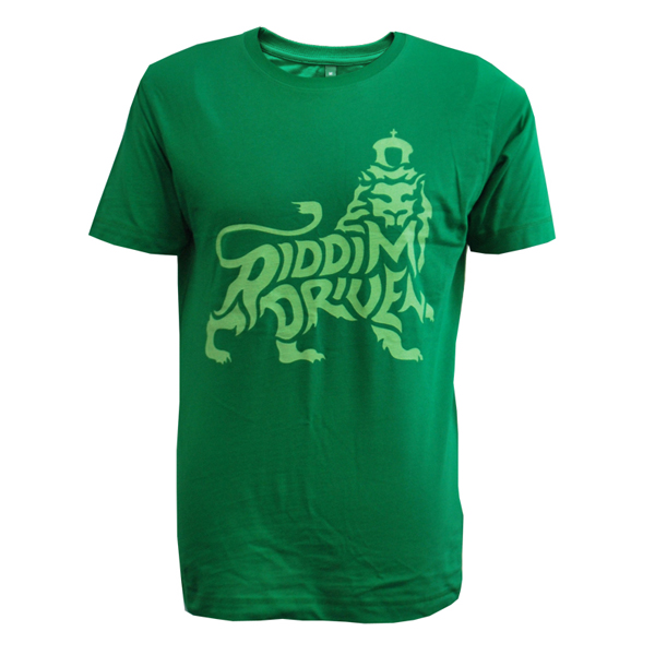 Buy Online Greensleeves Records - Riddim Drive Lion T-Shirt