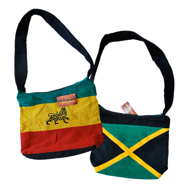 Buy Online Greensleeves Records - Riddim True Jamaican Flag Bag