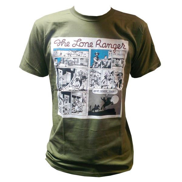 Buy Online The Lone Ranger - Hi-Yo Silver Away T-Shirt