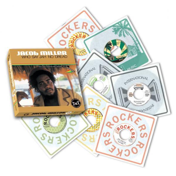 Buy Online Jacob Miller - Who Say Jah No Dread 7 x 7-Inch Boxset