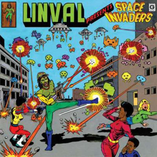 Buy Online Various Artists - Linval Presents: Space Invaders 2LP (Plus Giant Poster)