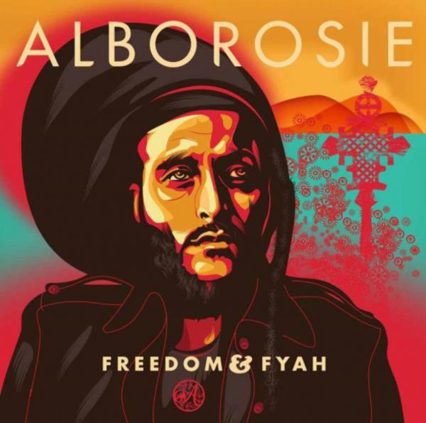 Buy Online Alborosie - Freedom & Fyah LP (With Free Poster)