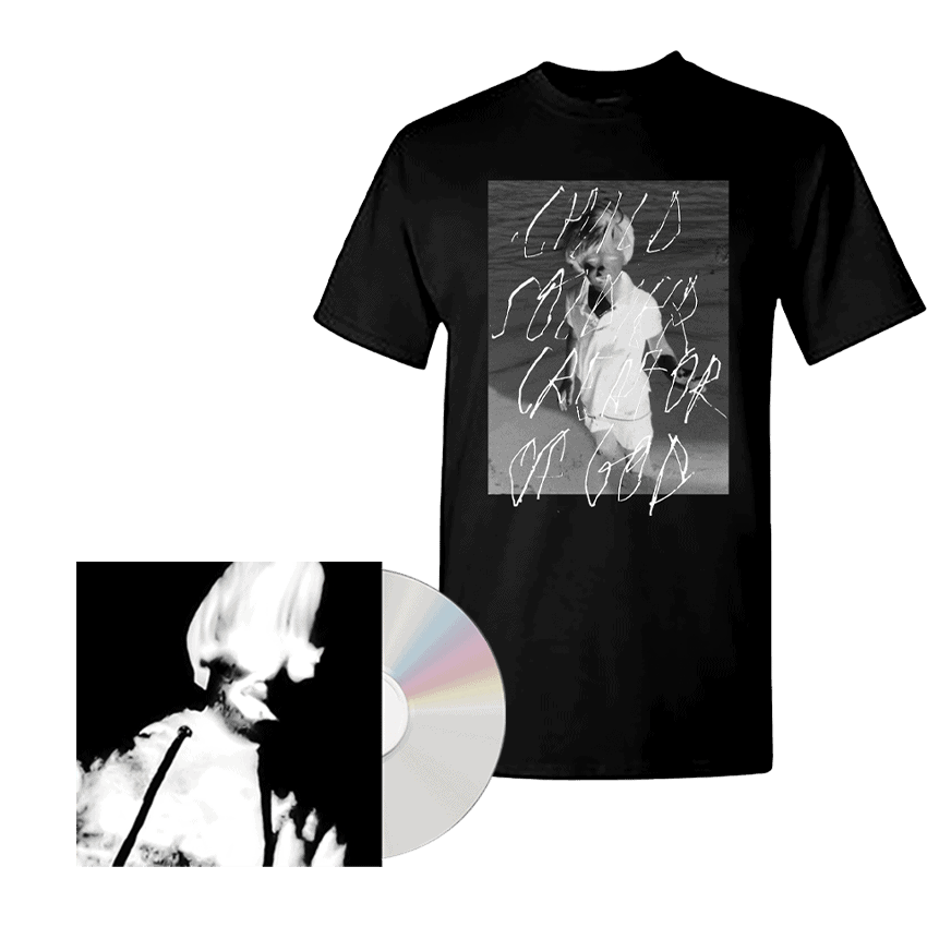 Buy Online Greg Puciato - Child Soldier: Creator of God CD + Child Soldier: Creator of God T-Shirt