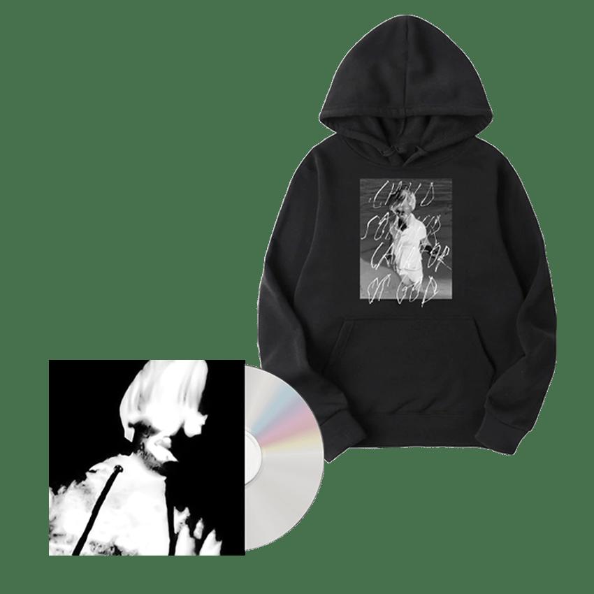 Buy Online Greg Puciato - Child Soldier: Creator of God CD + Child Soldier: Creator of God Hoodie