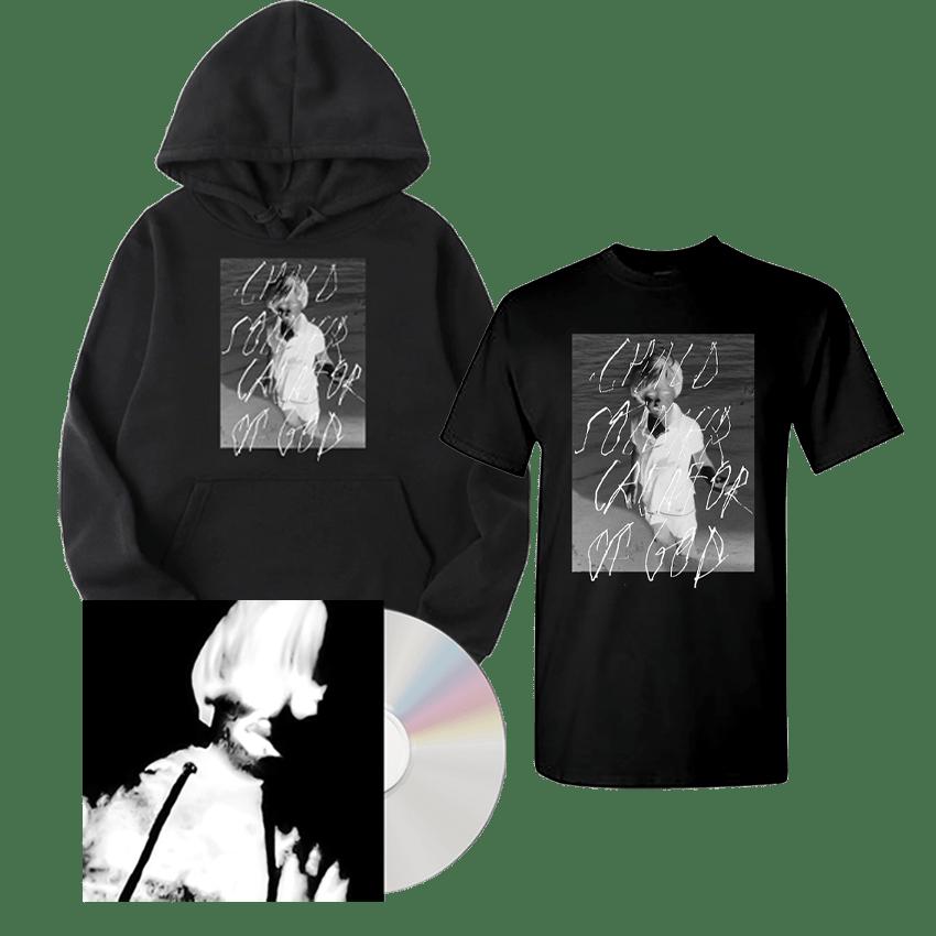 Buy Online Greg Puciato - Child Soldier: Creator of God CD + Child Soldier: Creator of God T-Shirt + Child Soldier: Creator of God Hoodie