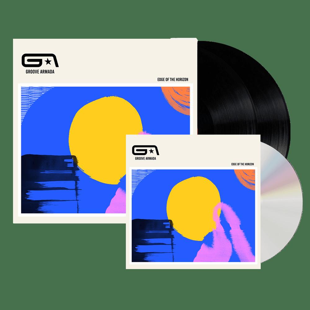 Buy Online Groove Armada - Edge Of The Horizon CD + Double Black LP