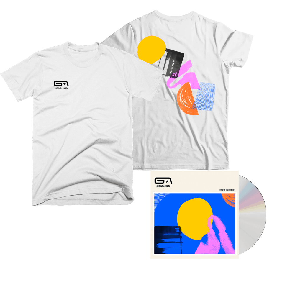 Buy Online Groove Armada - Edge Of The Horizon CD + T-Shirt