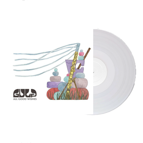 Buy Online Gulp - All Good Wishes Coloured (Signed) (Includes Free Bonus Remix CD)