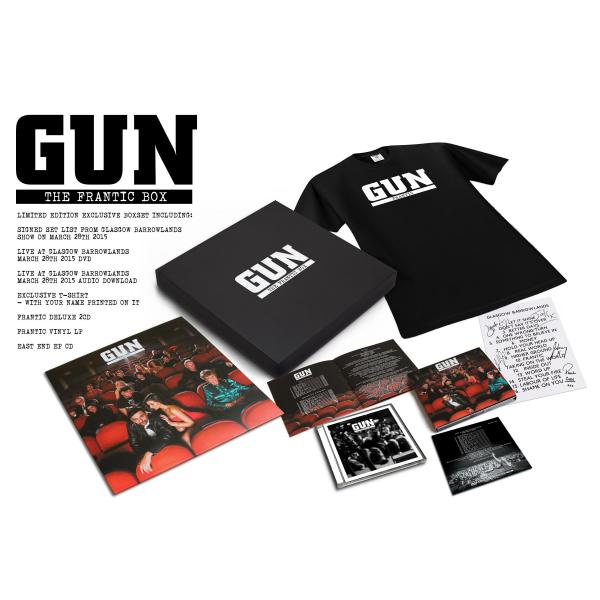 Buy Online Gun - The Frantic Box Set (Limited Edition)